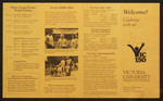 Brochure, All Years' Gala Reunion, 1986
