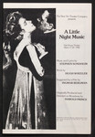 "Programme, ""A Little Night Music"""