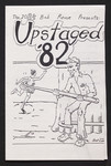 "Programme, ""Upstaged 82"""