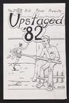 "Programme, ""Upstaged 82"""