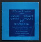 OConnor & Lummis presents Duncan Grant, Edward Wolfe & Bloomsbury.