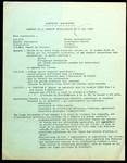 Rapport de la Réunion Inter-Comité du 21 mai 1968.