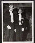 [Lord Tweedsmuir with E.W. Wallace at 100th anniversary reception]
