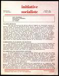 Initiative socialiste. Numéro 16, 4 juin 1968