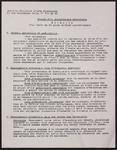 Projet dun enseignement artistique : extraits dun texte en 16 pages diffusé parallèlement.