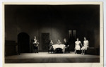 [Scene from Dramatic Society presentation for 100th anniversary reception]