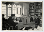 Students in Emmanuel Library