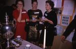 [Anne Richardson McNeil, Ruth Jackman Emery, Agnes Little Asrup(?) at 3T5 Spring Reunion, 1965]