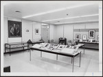 The interior of the E.J. Pratt Room of Contemporary Poetry, dedicated on October 15, 1964