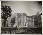 [Exterior south west corner of Emmanuel College]