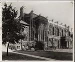 Burwash Hall, south elevation, 1915