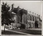 Burwash Hall, south elevation, 1915