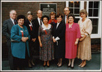 Occasion of unveiling Annesley plaque