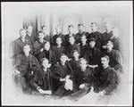 Graduating class, Victoria College, Cobourg, 1889
