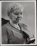 Margaret Addison as an old woman