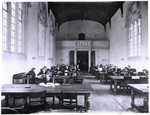 Interior of Library, Victoria College