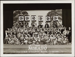 Victoria College Music Club in the Mikado costumes, 1937