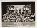 Victoria College Music Club in the Mikado costumes, 1937