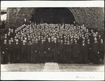 Victoria University persons assembled for 1919 reunion