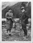 A.P. Coleman among the Canadian Rockies with Captain Crawford of the 2nd Mount Everest Expedition