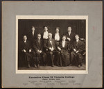 Victoria College Class Executive 1912, Fall term 1909
