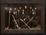Victoria College Ladies Hockey Team interfaculty championship 1923-1924