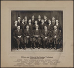 Officers and Cabinet of the Students Parliament, Victoria College, Fall Team 1924