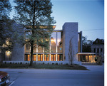 Isabel Bader Theatre, street night exterior