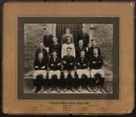 Victoria College Soccer Team, 1931
