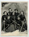 Victoria College Womens Hockey Team, ca.1904