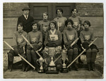 Intercollegiate and Ontario Ladies Hockey Assoc. Champions, 1925