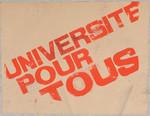 Université pour tous.