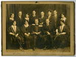 4th Year Victoria College, Class Executive 1924-25