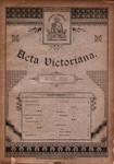 Acta Victoriana 14A :7