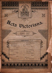 Acta Victoriana 14A :8