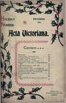 Acta Victoriana 20 :3