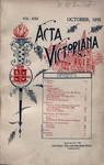 Acta Victoriana 22 :1