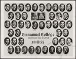 1952 Graduating Class, Emmanuel College