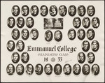 1953 Graduating Class, Emmanuel College