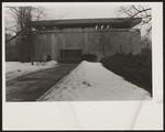 [Exterior of the E.J. Pratt Library in winter]