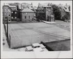 Victoria University tennis court