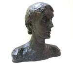 Head of Virginia Woolf [art original]