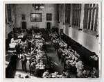 Eating at Burwash Hall