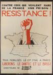 Contre ceux qui veulent faire de la France une prison : Resistance ! [art reproduction] : Tous mobilisés le 27 mai à Paris liberons Le Dantec et Le Bris ! /