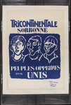 Tricontinentale Sorbonne, peuples opprimes tous unis.