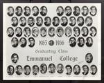 1965-1966 Graduating Class, Emmanuel College
