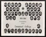 1963-1964 Graduating Class, Emmanuel College