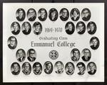 1969-1970 Graduating Class, Emmanuel College