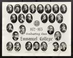 1972-1973 Graduating Class, Emmanuel College