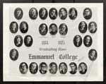 1974-1975 Graduating Class, Emmanuel College